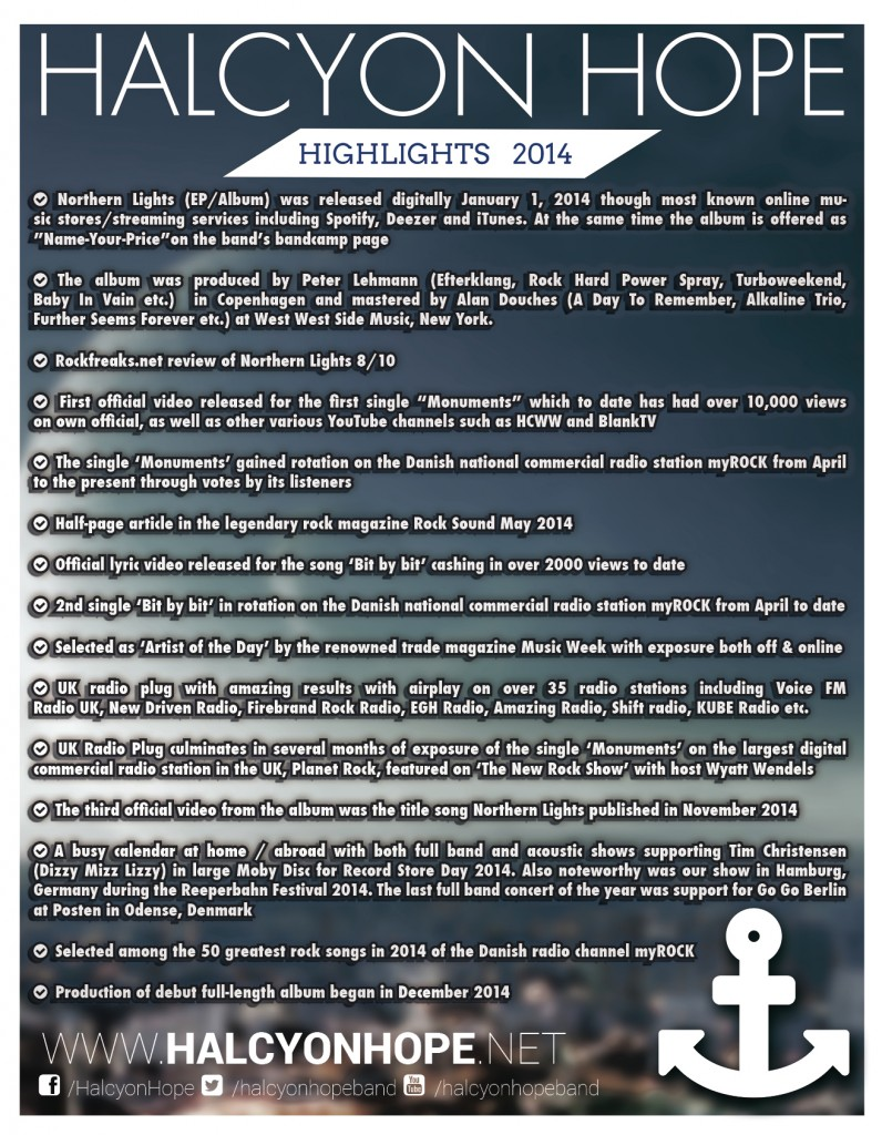 HH Highlights 2014_Press 2015
