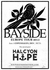 Halcyon Hope supporting Bayside